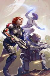 Mass Effect Fan Art