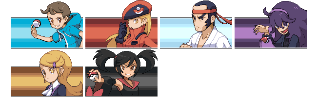 [Vs Sprite] Pokemon XY Trainers by PoLlOrOn