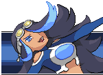 [Vs Sprite]Team Aqua admin Shelly by PoLlOrOn