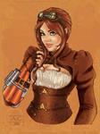 Steampunk Victoria R