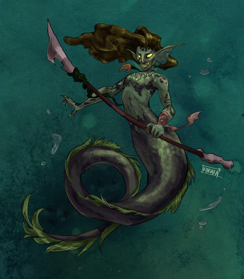 Deep Sea Mermaid by Kinsara on DeviantArt