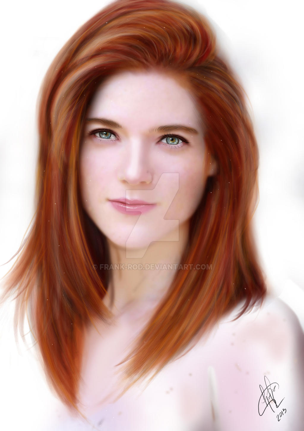 Rose Leslie Ygritte Game Of Thrones By Frank Rod On