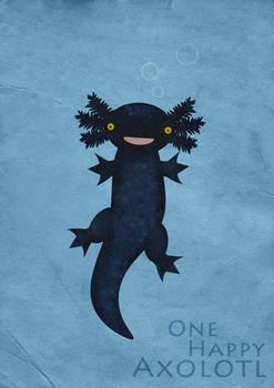 One Happy Axolotl