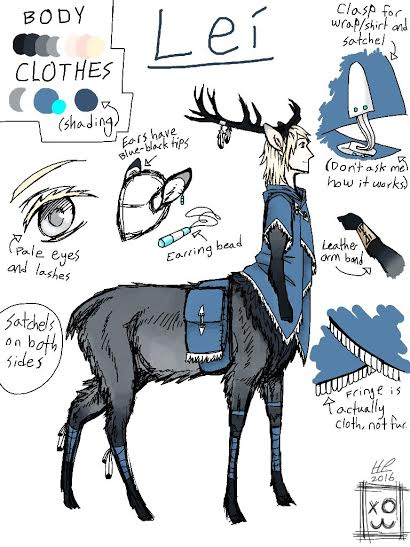 Deer Little Friend by Writing-and-Art55