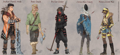 Just Some Bandit Kings (and a Bandit Queen) by AloeDreams