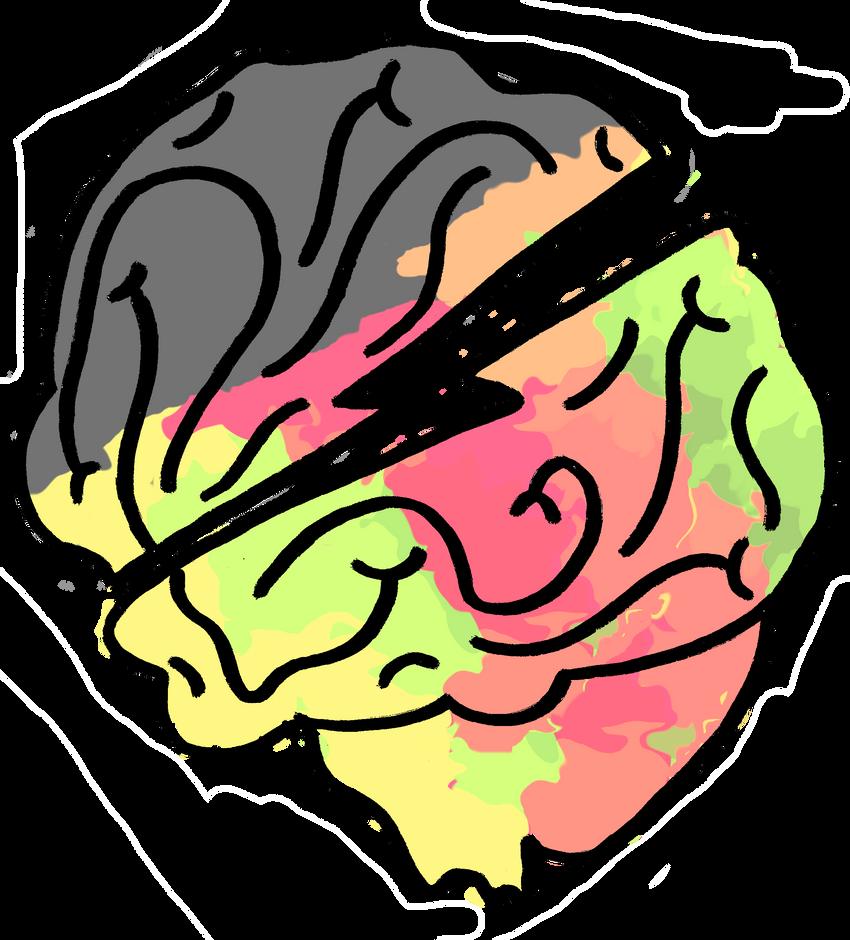 The Brain tattoo by wislingsailsmen