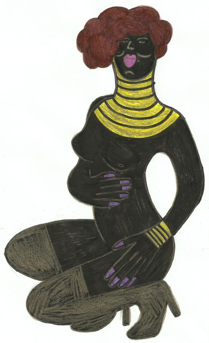 An African Queen by wislingsailsmen