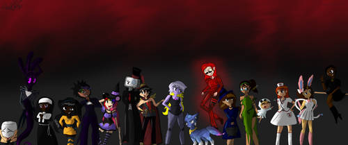 Happy Halloween!!!  Part 1 by Galaxyrainbowgirl