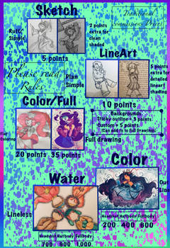 Traditional commissions (OPEN)