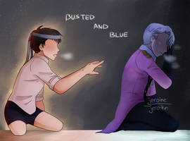 [YOI] Busted and Blue (+SPEEDDRAW) by Jeroine