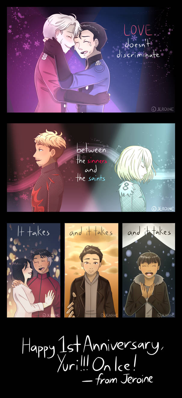 [YOI] IT'S BEEN A YEAR