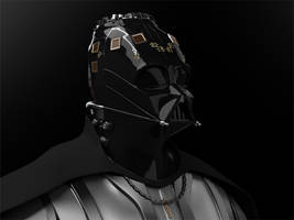 Vader No Helmet by AggeIw