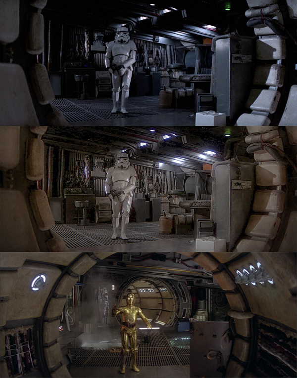 Millenium Falcon Interior By Aggeiw On Deviantart