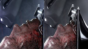 Vader Head Fixed by AggeIw
