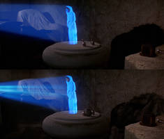 Leia Hologram hut by AggeIw