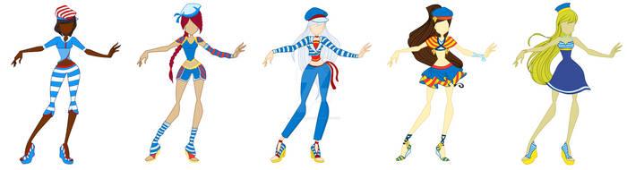COM: Sailor outfits designs