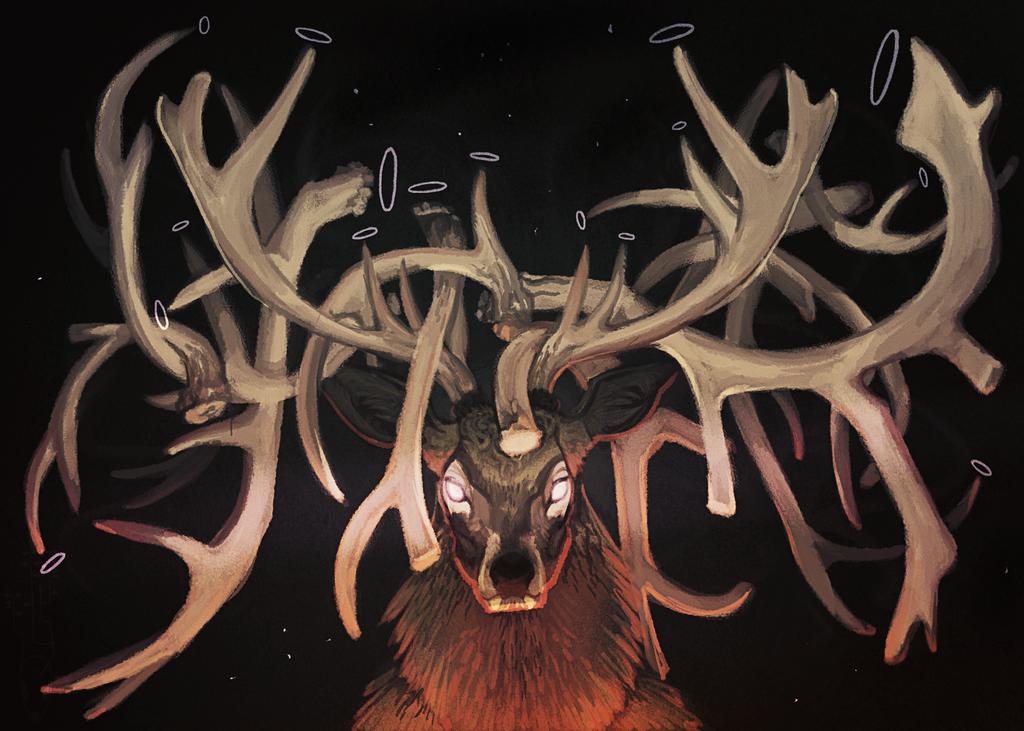 Deer-King by CoyoteMange