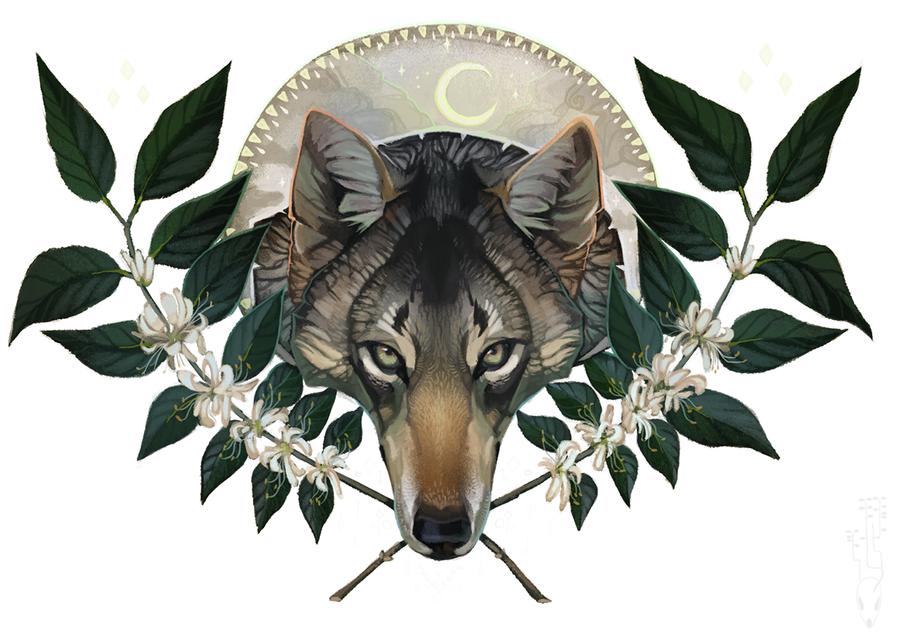 Honeysuckle Moon by CoyoteMange