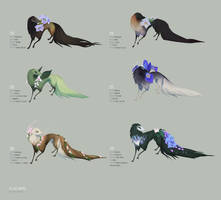 Wildflower Collection - Auction (closed) by witherlings