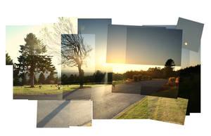 glance:sunset by modernreligion