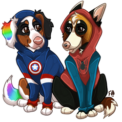 (gift) Superhero Hoodies!