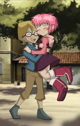 Jeremie and Aelita