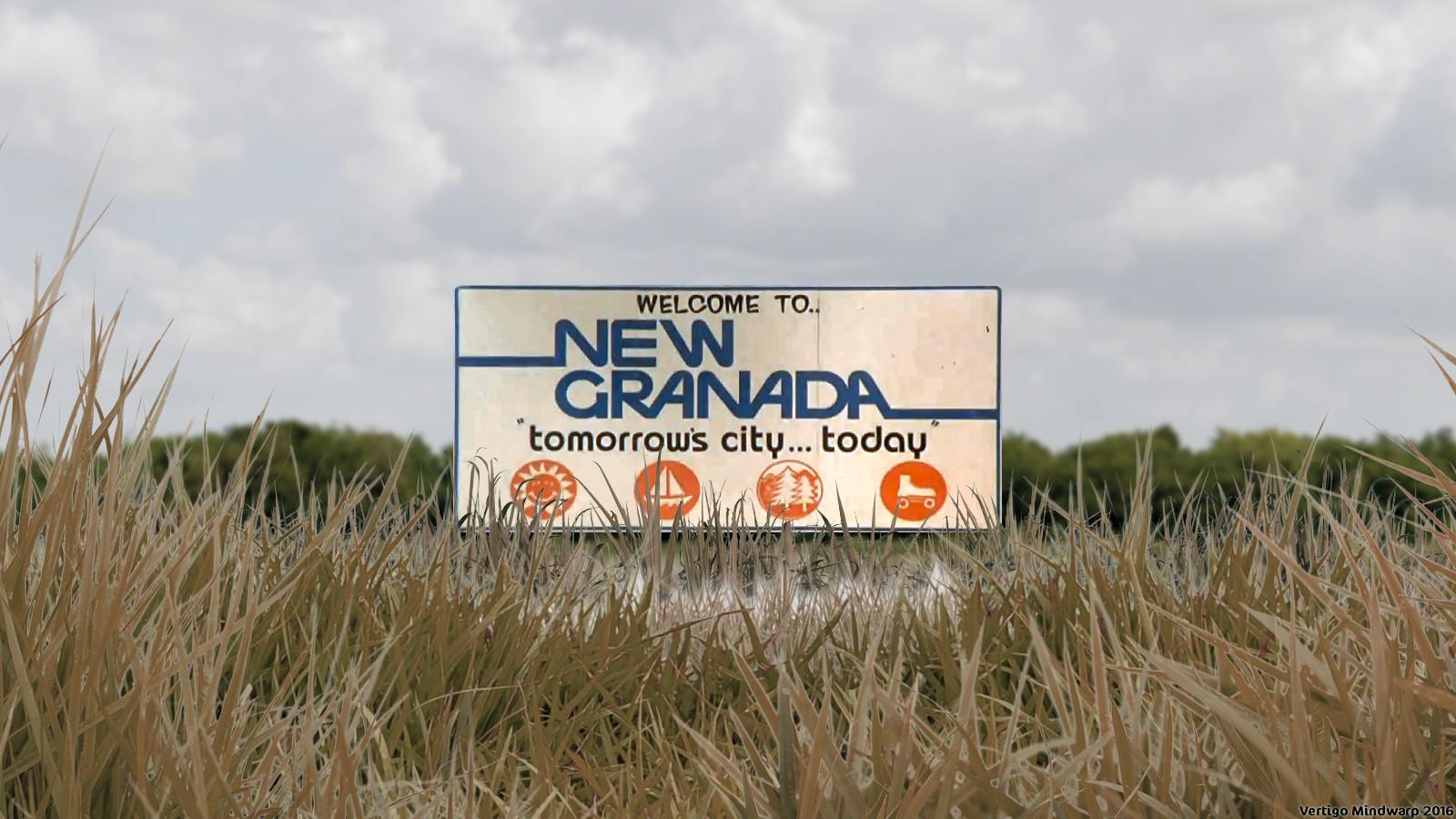 New Granada Sign
