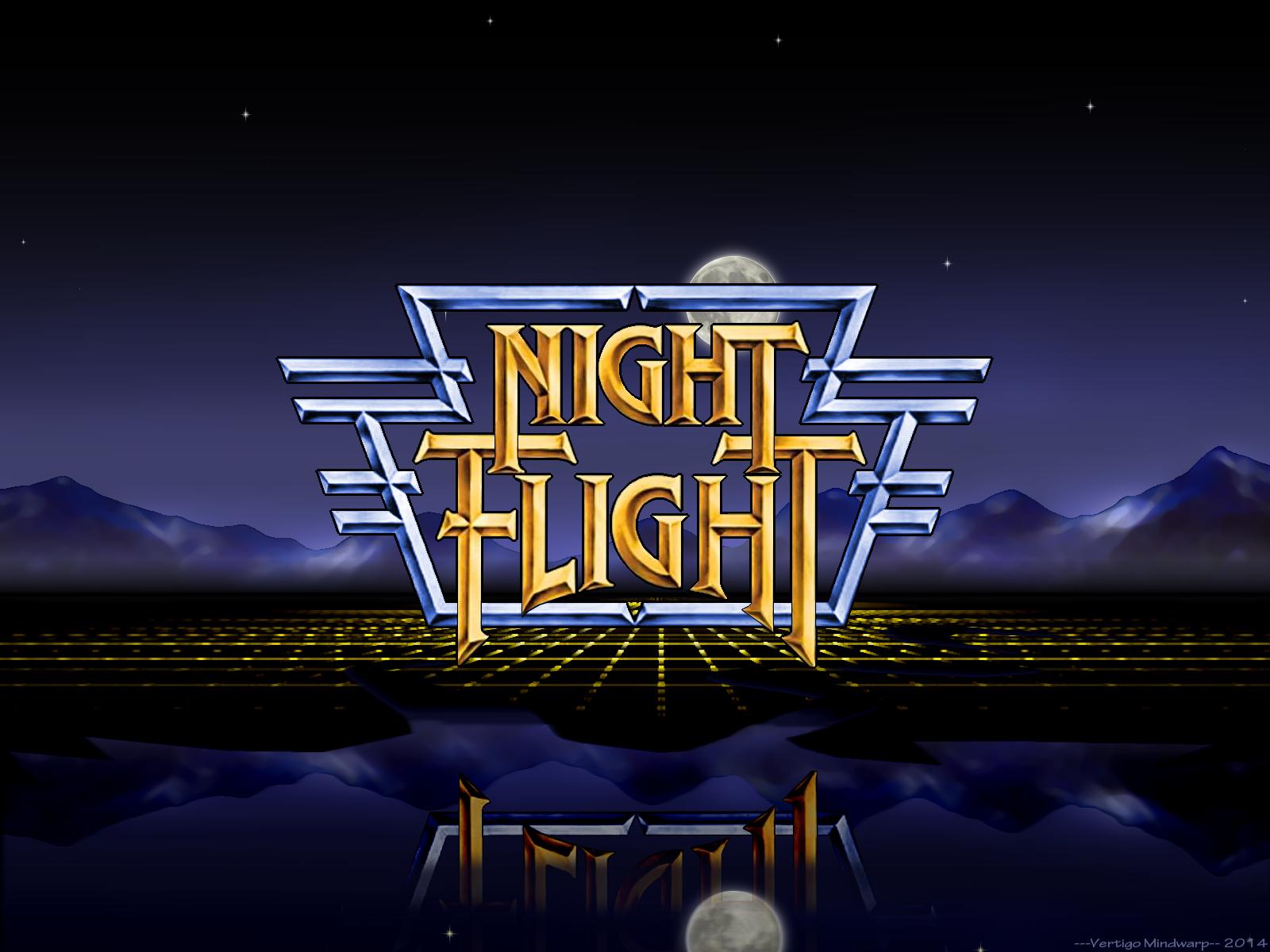 Night Flight Logo VM