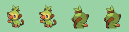 Sprite Grookey for GBA