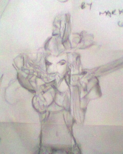 Warrior Babe by theloverofTMI