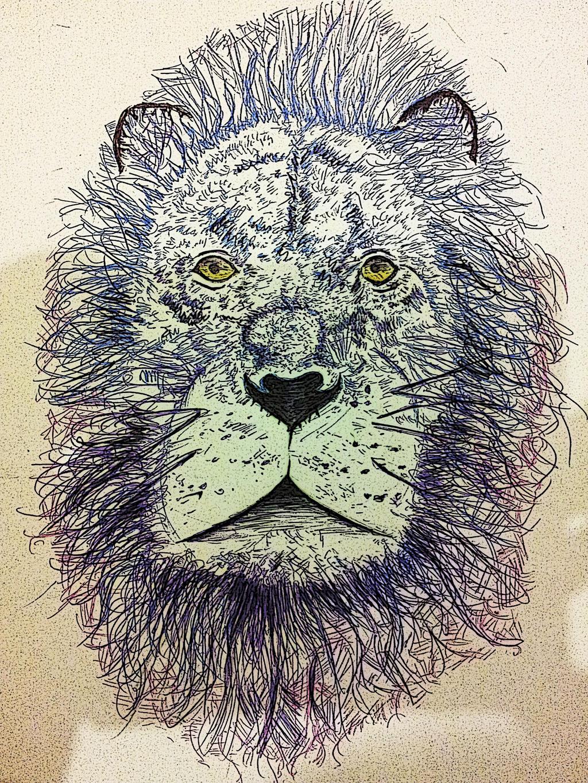 Dreamlike Lion by theloverofTMI