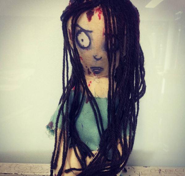 Pyschostatic Woods Sandra Doll by theloverofTMI