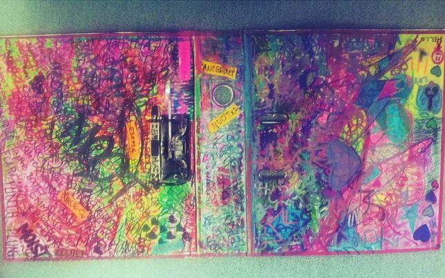 High School Folder Graffiti by theloverofTMI