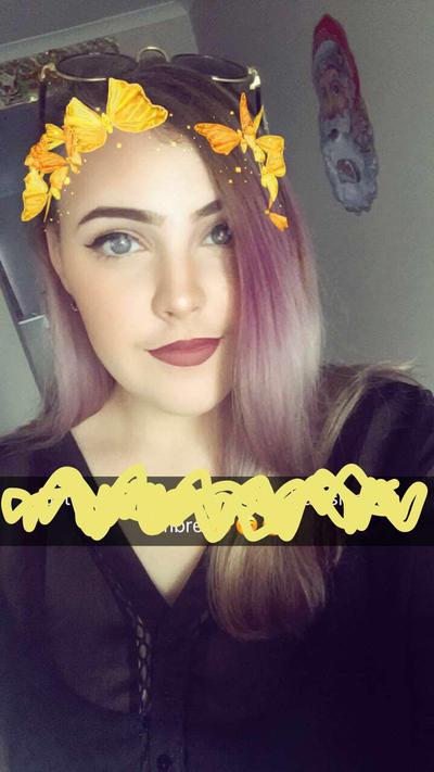 Purple hair :3  by theloverofTMI