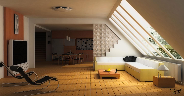 Modern Interior By 2d 3daniel On Deviantart