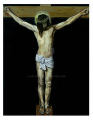 The Crucifixion by GuitarWars