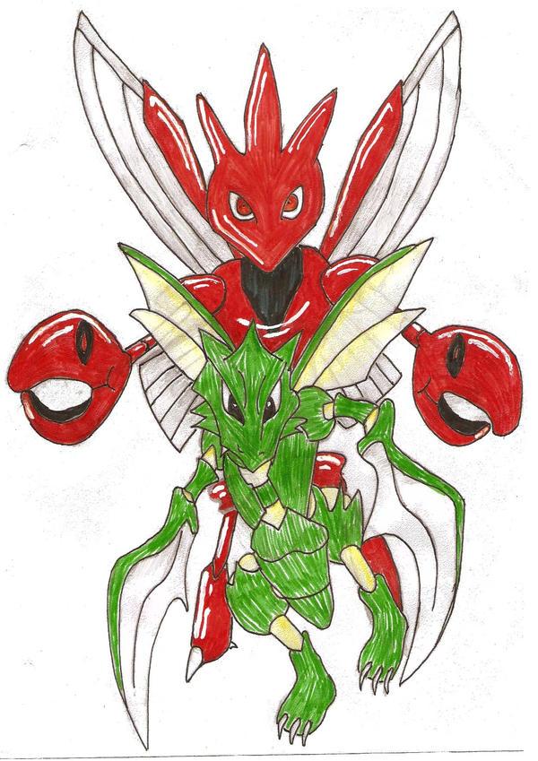 pokemon moon scyther evolution