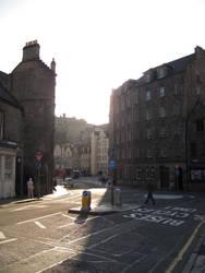 Sleepy Morning in Edinburgh