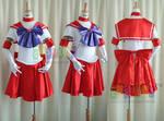Sailor Mars Cosplay Costume