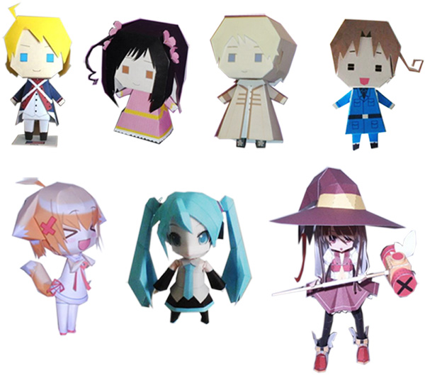 Printable Paper Crafts Anime Ye Craft Ideas