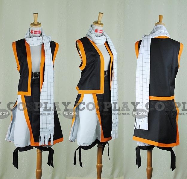 Inspiré par Fairy Tail Natsu Dragneel Manga Costumes de