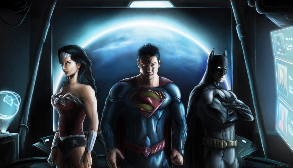Justice League by CharlesLogan