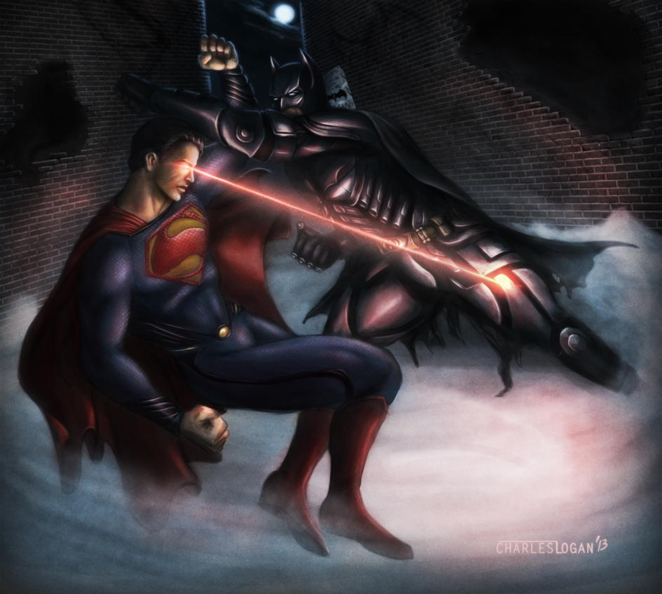 Batman VS Superman by CharlesLogan