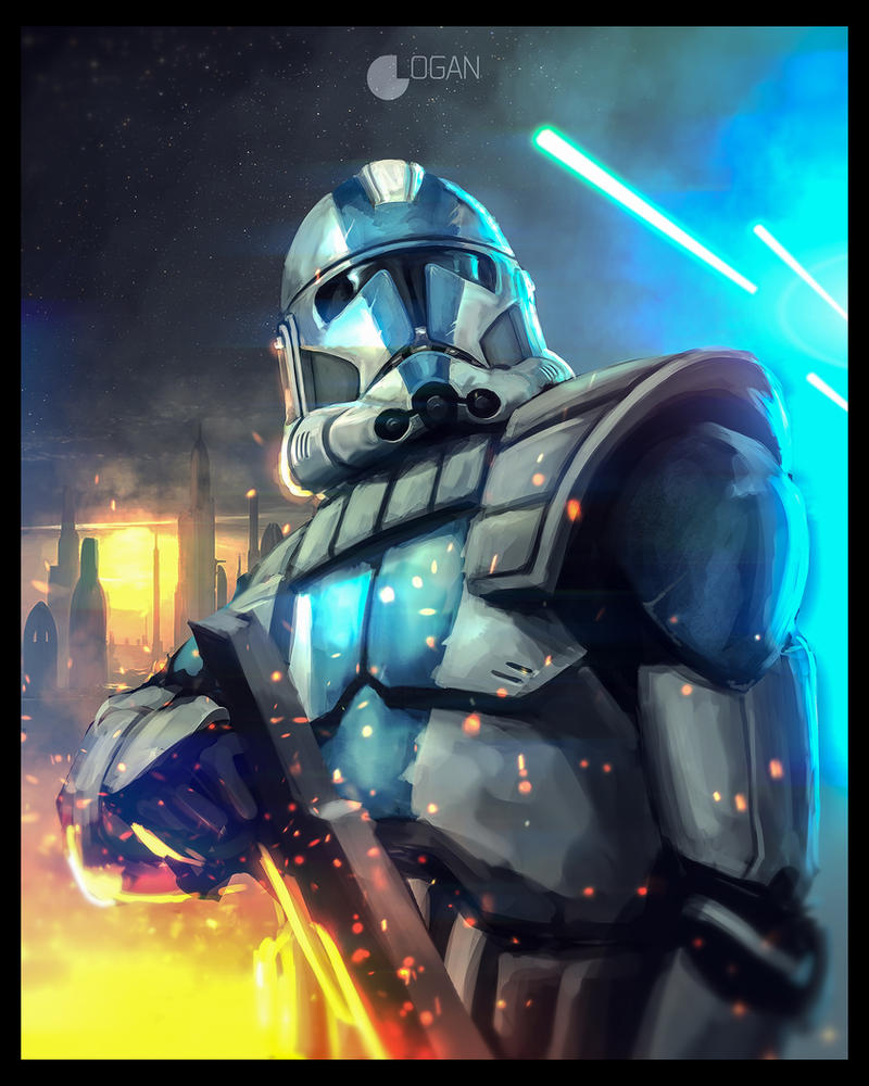 Star Wars: The Clone Wars   Clone Trooper By CharlesLogan ...