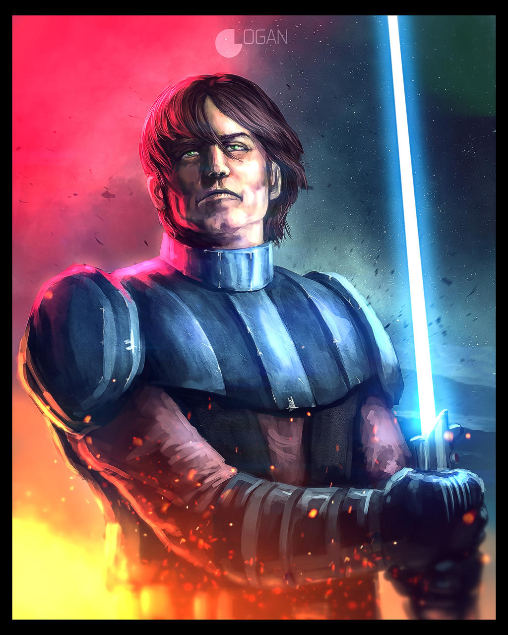Star Wars Anakin Coloring Pages