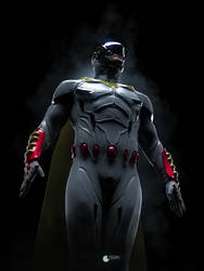 Space Ghost by CharlesLogan