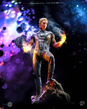 Fantastic Four - Johnny Storm - Human Torch