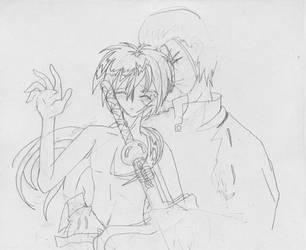 Kenshin yaoi preview thing by esper