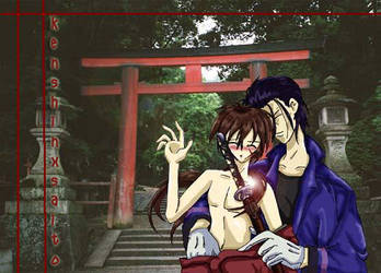 Kenshin X Saito by esper