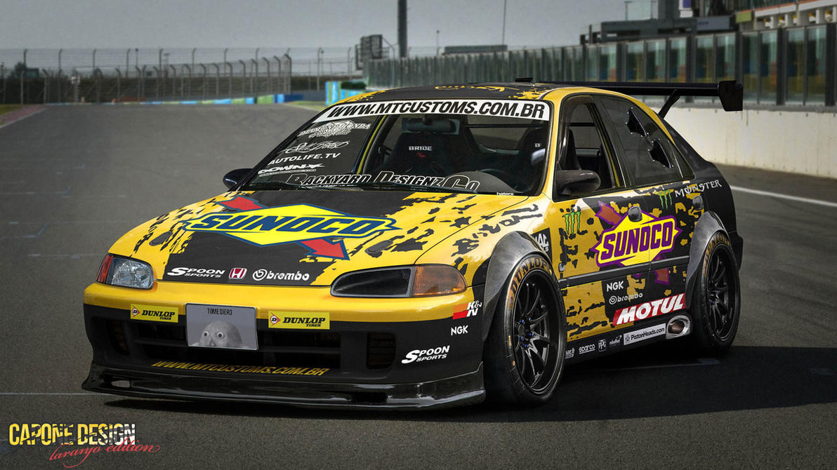 Racing EG - Laranjo Edition by CaponeDesign